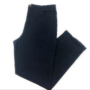 Gloria Vanderbilt Amanda Straight Dark Jeans, 18